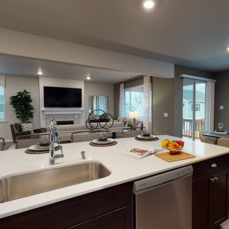 Living Area featured in the Magnolia By Lennar in Bremerton, WA