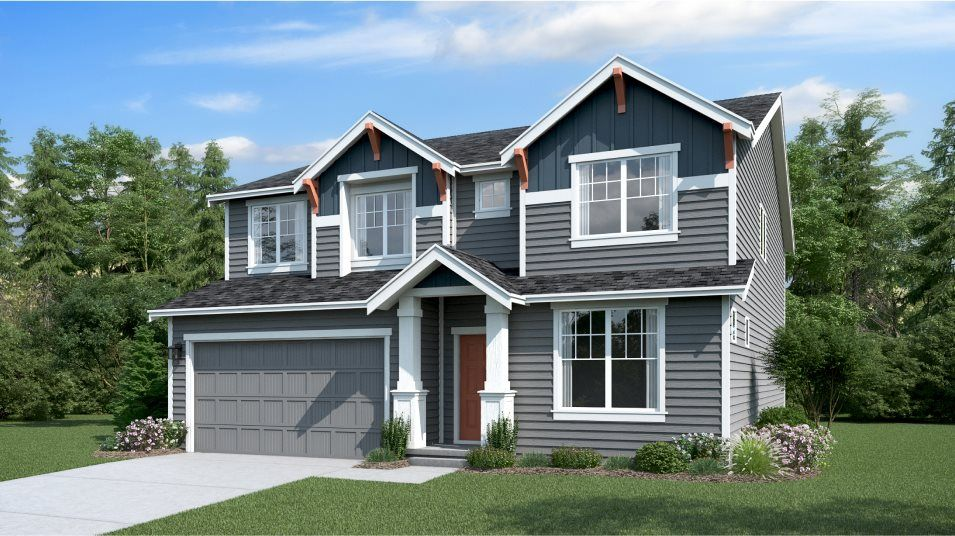 Exterior featured in the Meridian By Lennar in Bremerton, WA