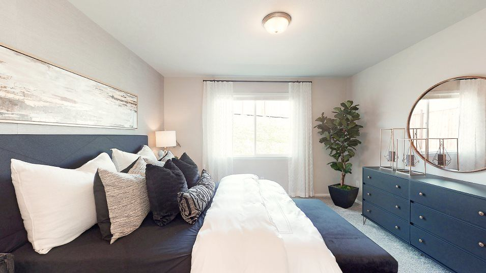 Bedroom featured in the Hamilton By Lennar in Olympia, WA