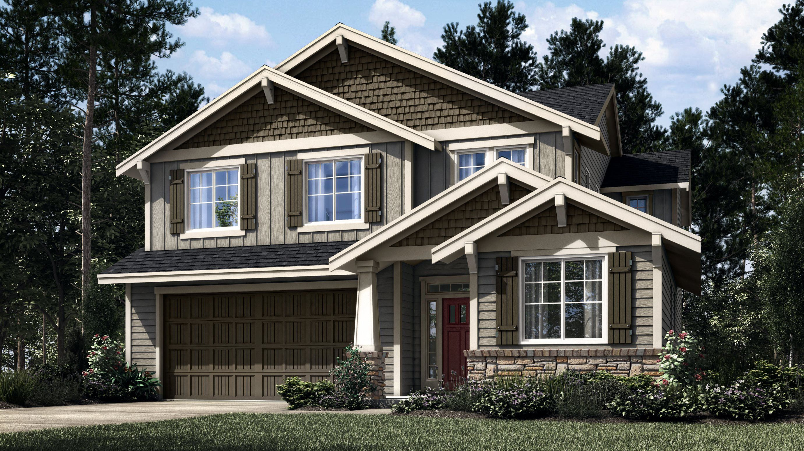 Exterior featured in the Larwood By Lennar in Portland-Vancouver, WA