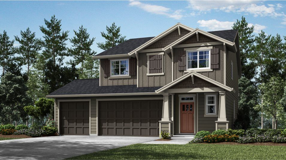 Exterior featured in the Ashland By Lennar in Portland-Vancouver, WA