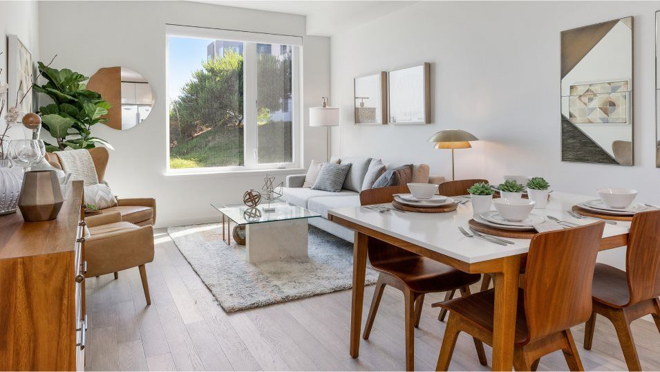 Living Area featured in the 10 Kennedy Pl #203 By Lennar in San Francisco, CA