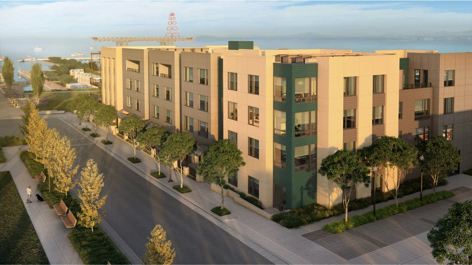 Exterior featured in the 51 Innes Ct. #312 By Lennar in San Francisco, CA