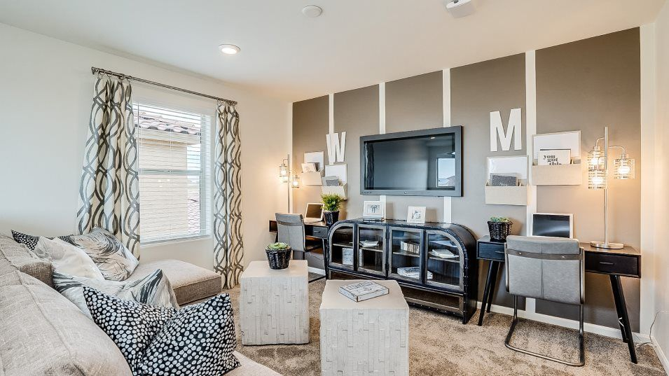 Living Area featured in the Sabino By Lennar in Tucson, AZ