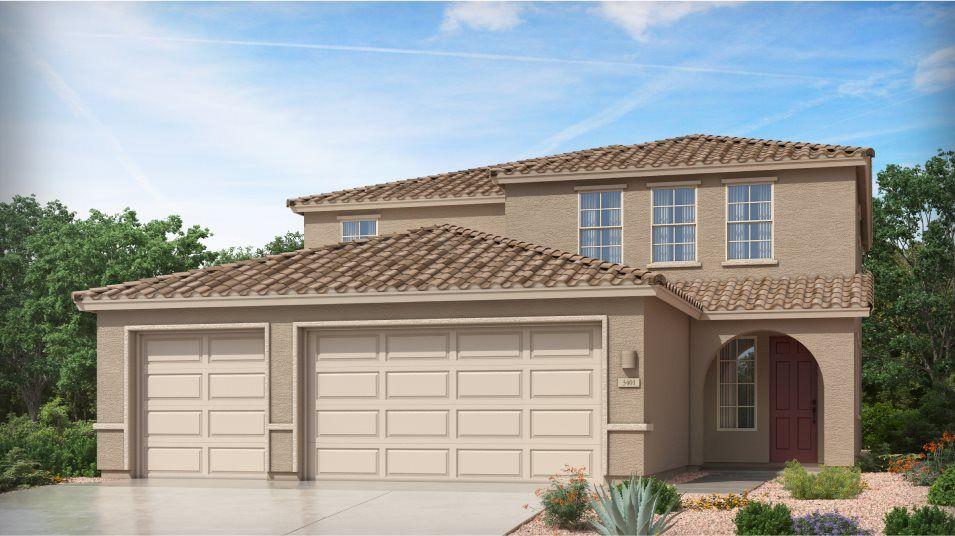 Exterior featured in the Ventana By Lennar in Tucson, AZ