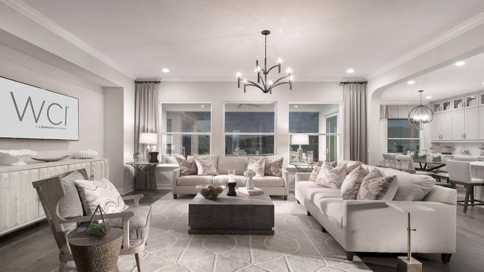 Living Area featured in the Bellejo By WCI in Tampa-St. Petersburg, FL
