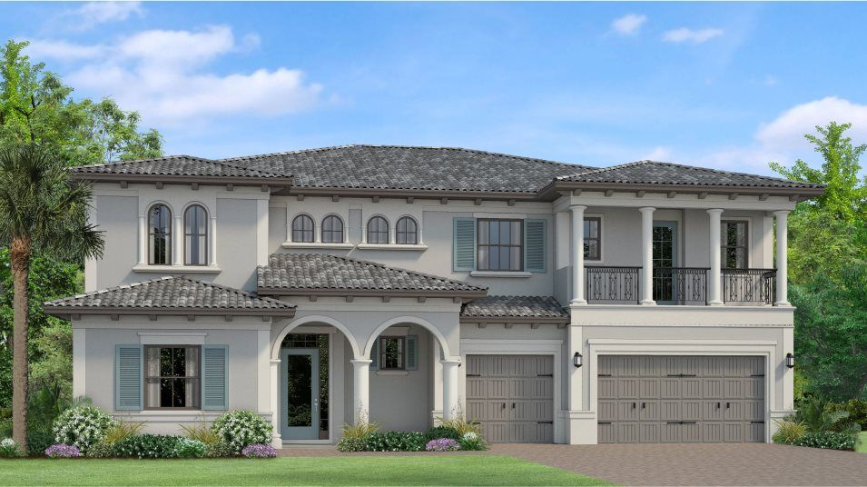 Exterior featured in the Ventura By WCI in Tampa-St. Petersburg, FL