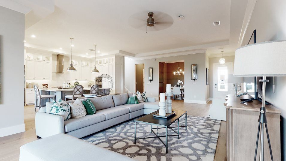 Living Area featured in the Pompano II By WCI in Tampa-St. Petersburg, FL