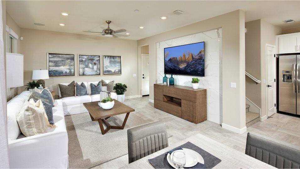 Living Area featured in the Residence 3 By Lennar in San Diego, CA