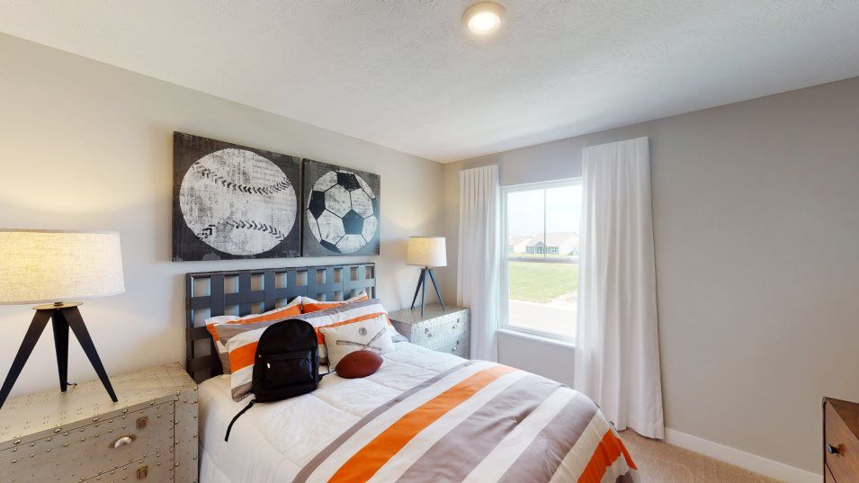 Bedroom featured in the Valencia By Lennar in Indianapolis, IN