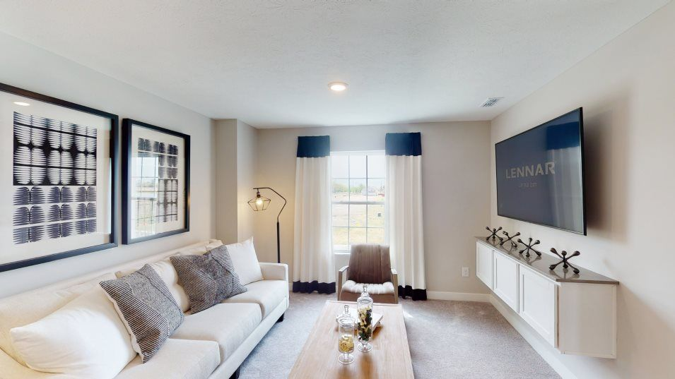 Living Area featured in the Everett By Lennar in Indianapolis, IN