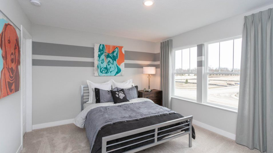 Bedroom featured in the Oxford By Lennar in Indianapolis, IN