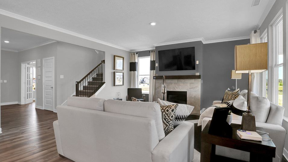 Living Area featured in the Spencer By Lennar in Indianapolis, IN