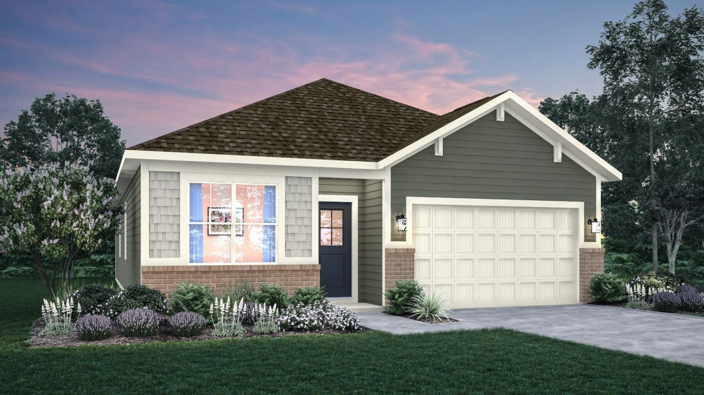 Exterior featured in the Alan By Lennar in Indianapolis, IN