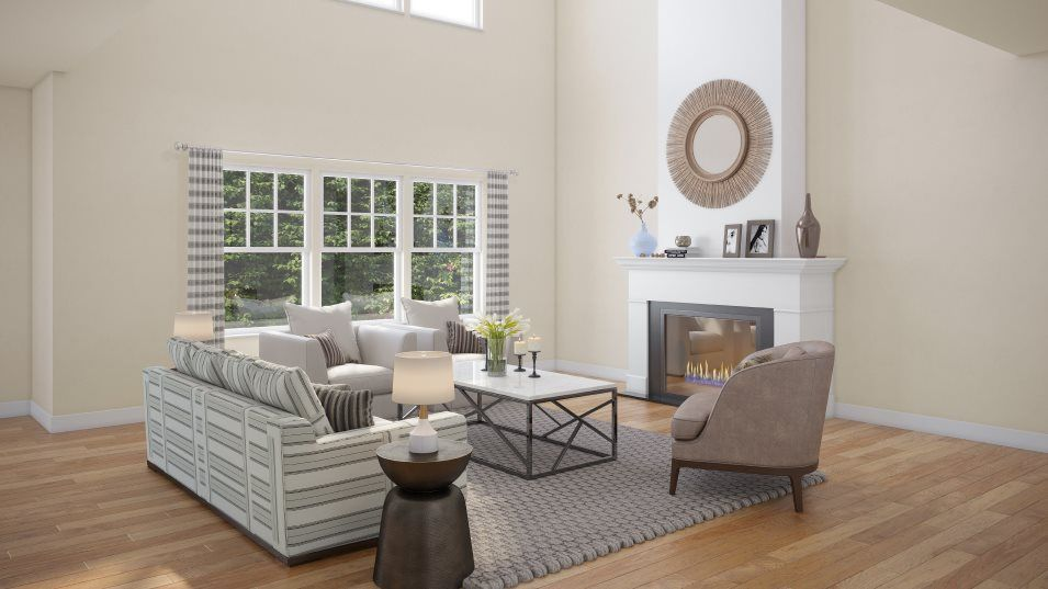 Living Area featured in the Emerson By Lennar in Philadelphia, PA