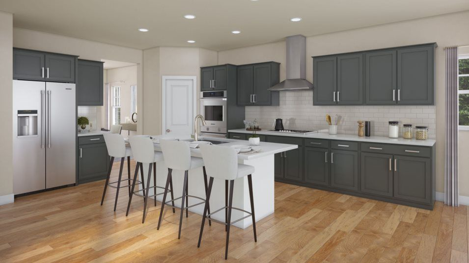 Kitchen featured in the Emerson By Lennar in Philadelphia, PA