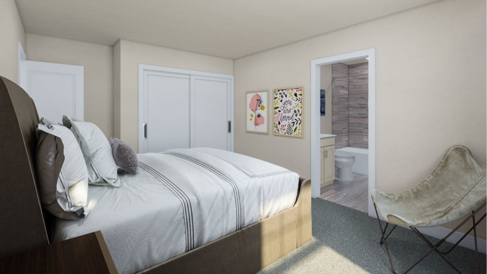 Bedroom featured in the Aurora By Lennar in Allentown-Bethlehem, PA