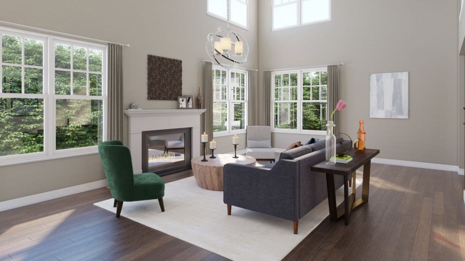 Living Area featured in the Sullivan By Lennar in Philadelphia, PA