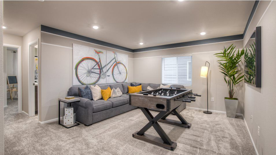 Living Area featured in the Bainbridge By Lennar in Tacoma, WA