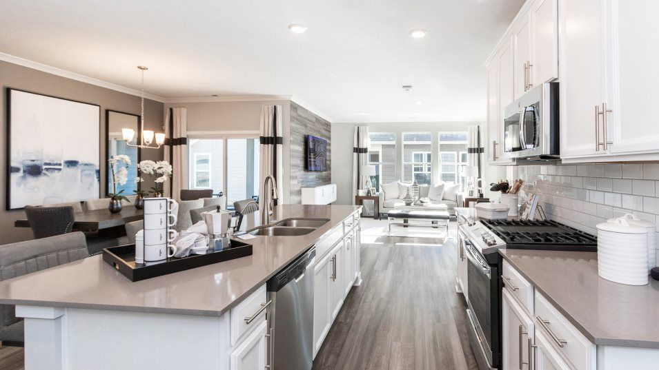 Kitchen featured in the Balsam By Lennar in Indianapolis, IN