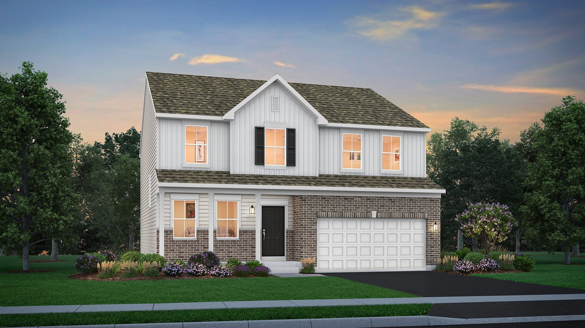 Exterior featured in the Wren By Lennar in Chicago, IL