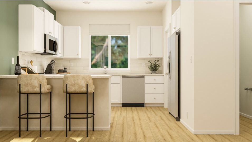 Kitchen featured in the Aster By Lennar in Seattle-Bellevue, WA