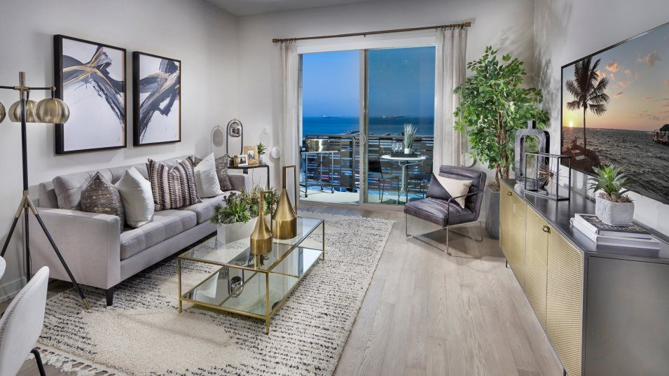 Living Area featured in the Plan A1 By Lennar in San Francisco, CA