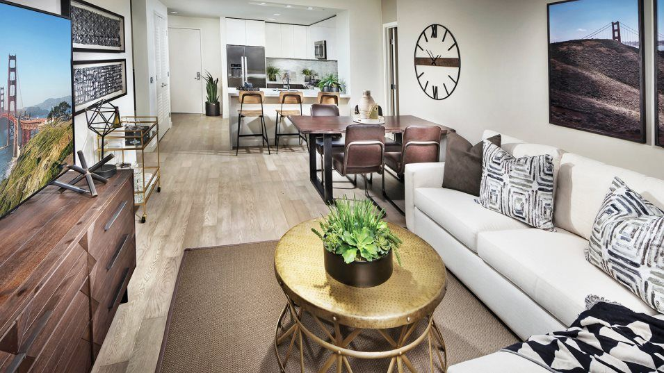Living Area featured in the 10 Innes Ct #304 By Lennar in San Francisco, CA