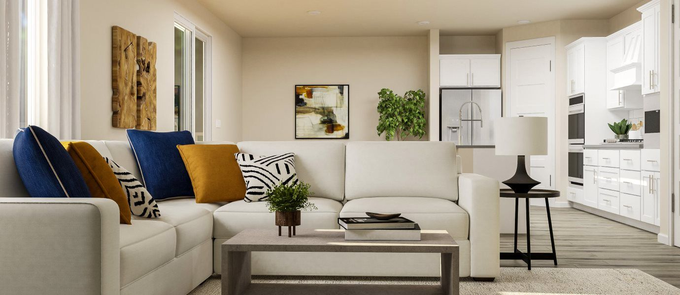 Living Area featured in the Monarch By Lennar in Seattle-Bellevue, WA