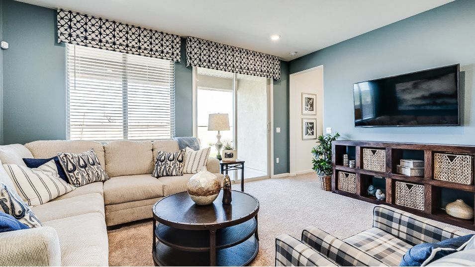 Living Area featured in the Mesquite By Lennar in Tucson, AZ