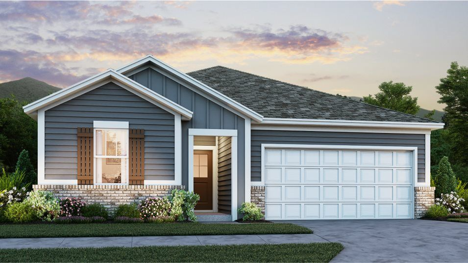 Exterior featured in the Ashbury By Lennar in Nashville, TN