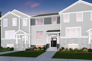 Amherst - Park Pointe - Urban Townhomes: South Elgin, Illinois - Lennar