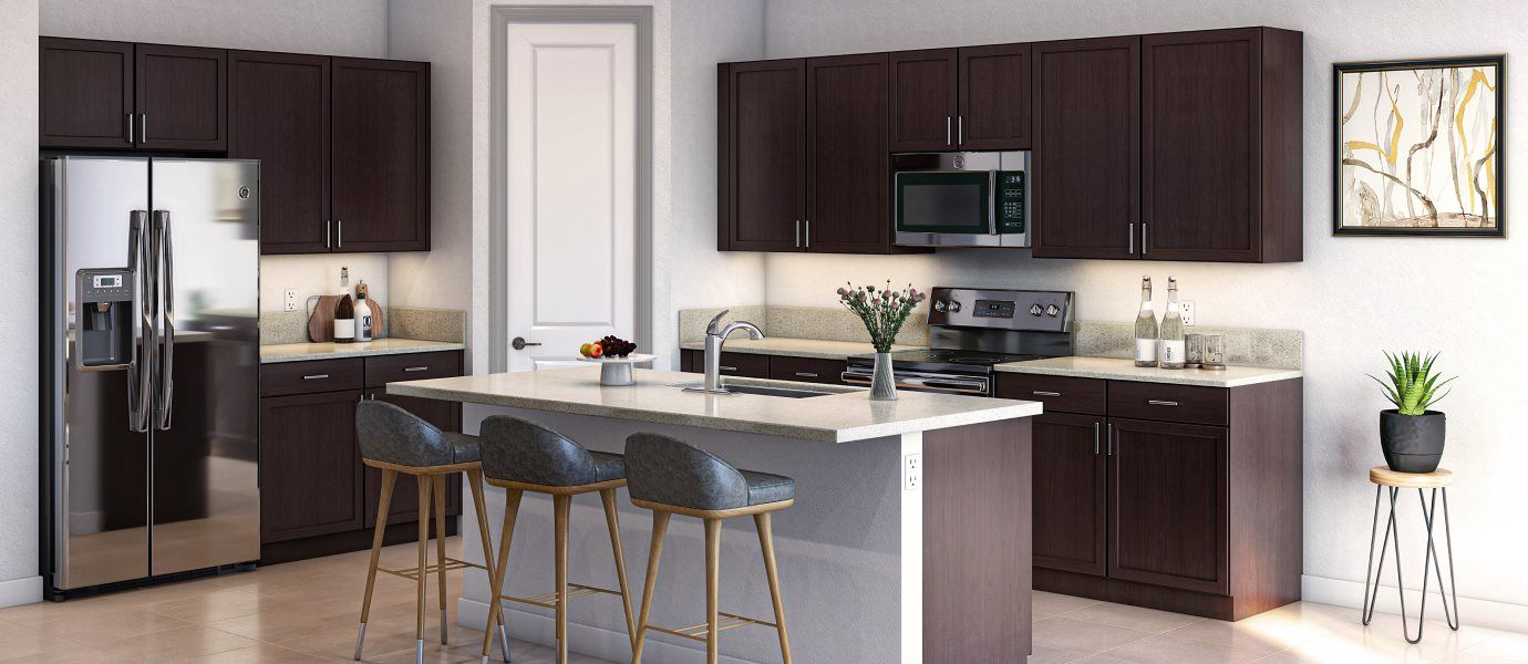 Kitchen featured in the Hartford By Lennar in Melbourne, FL