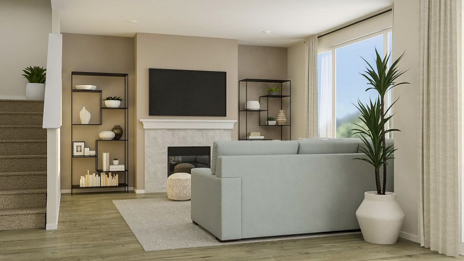 Living Area featured in the Davenport By Lennar in Tacoma, WA