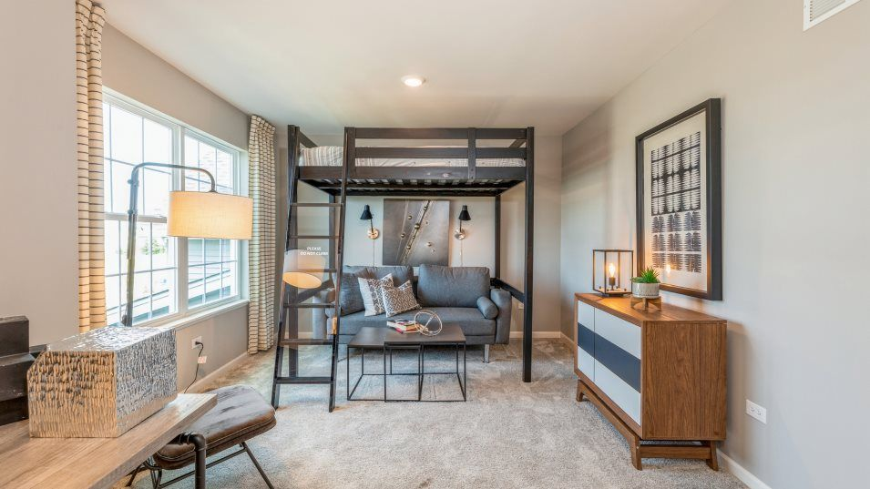 Bedroom featured in the Raleigh By Lennar in Gary, IN