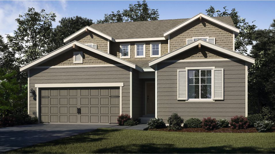 Exterior featured in the Bainbridge By Lennar in Bremerton, WA
