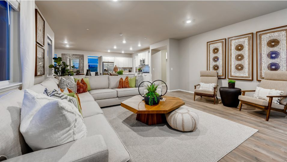 Living Area featured in the Bainbridge By Lennar in Bremerton, WA