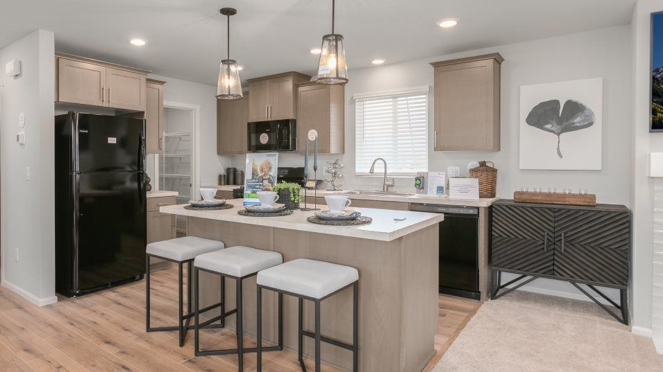Kitchen featured in the Cassidy By Lennar in Salem, OR