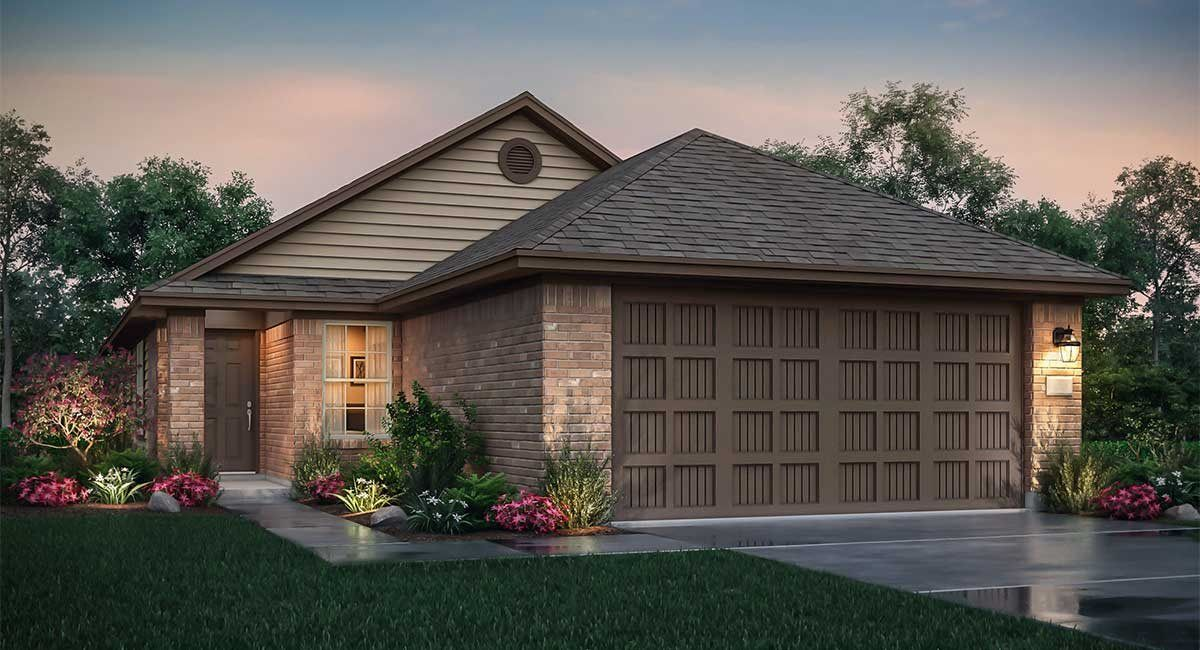 Exterior featured in the San Marcos By nuHome in Brazoria, TX
