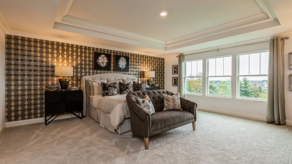 Bedroom featured in the Sequoia By Lennar in Chicago, IL
