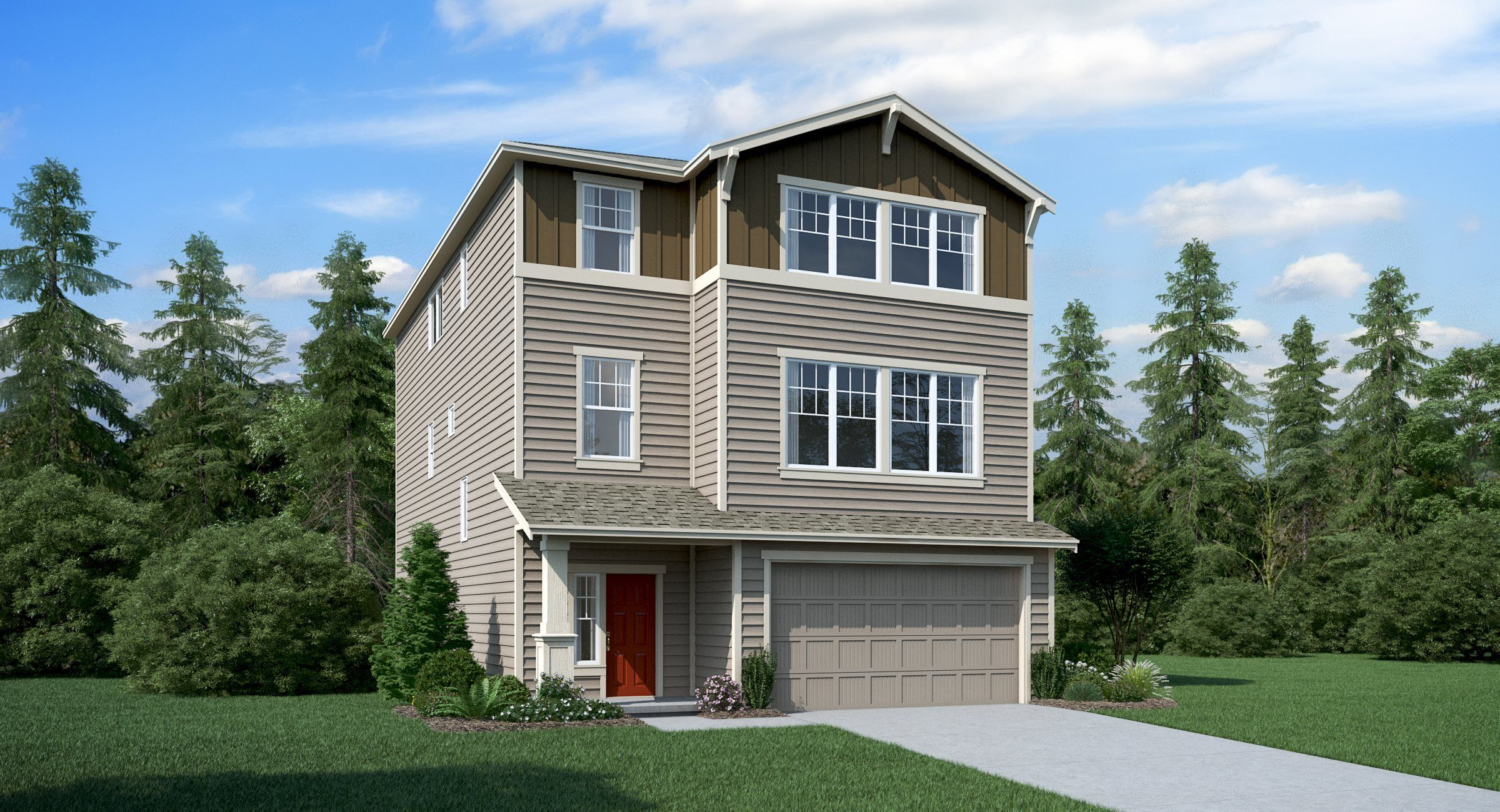 Exterior featured in the Adams By Lennar in Seattle-Bellevue, WA