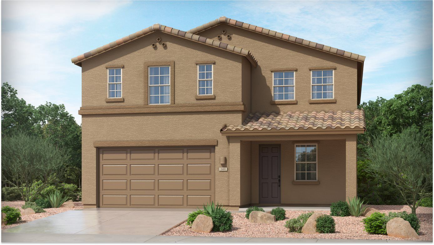Exterior featured in the Acacia II By Lennar in Tucson, AZ