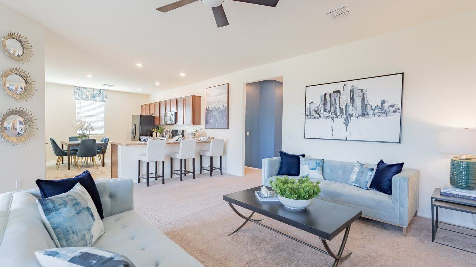 Living Area featured in the Pantano By Lennar in Tucson, AZ