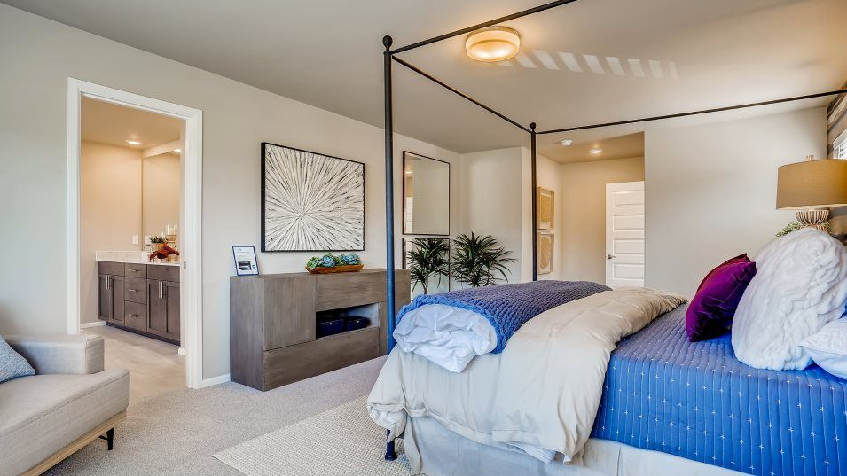 Bedroom featured in the Meridian By Lennar in Tacoma, WA