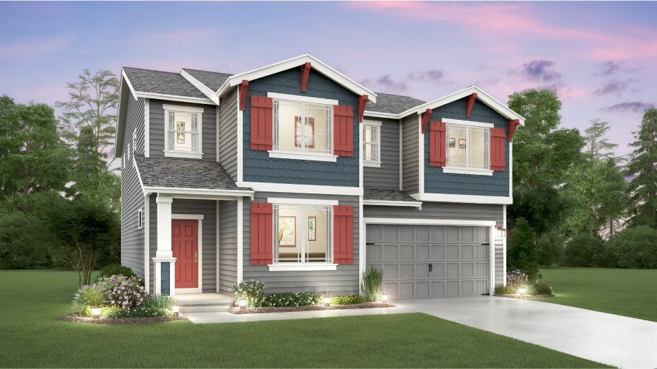 Exterior featured in the Stevenson By Lennar in Seattle-Bellevue, WA