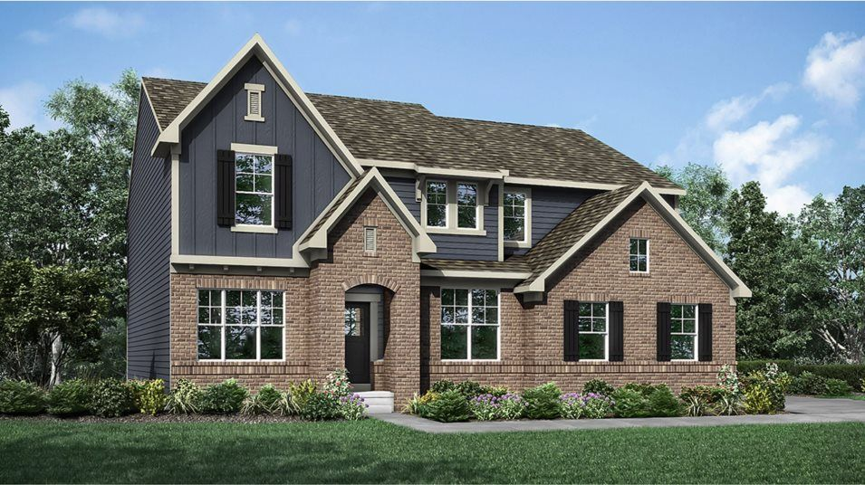 Exterior featured in the Fairmont By Lennar in Indianapolis, IN