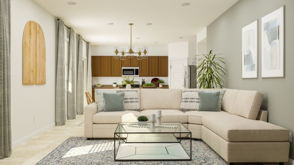 Living Area featured in the Harrison By Lennar in Tucson, AZ