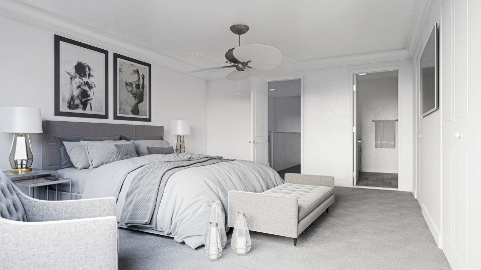 Bedroom featured in the Evergreen By Lennar in Palm Beach County, FL