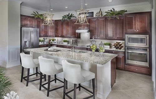 Kitchen-in-Angelina-at-Country Club East - Executive Homes-in-Bradenton