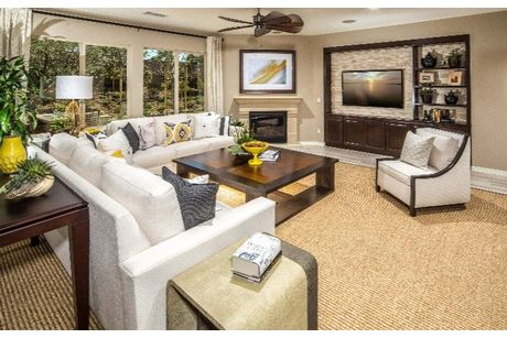 Greatroom-in-Residence Four-at-Morningstar Ranch - Horizon-in-Winchester